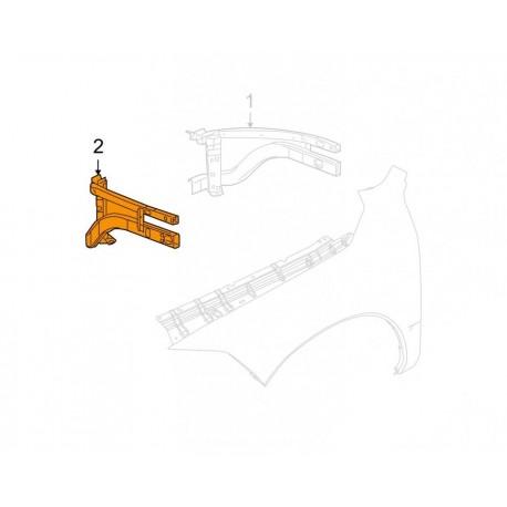 Links Kotflügel Gerüst DODGE RAM 1500 2010-2014