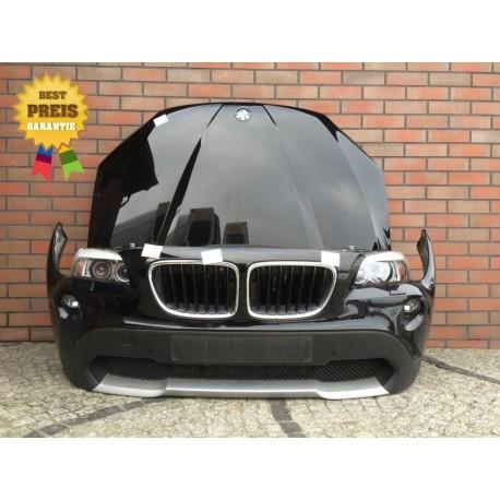 Komplett Front, Frontpakett Motoraube Stoßstange Kotflügel BMW X1 E84 SCHWARZ 2