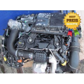 Motor 1.4 HDI PSA 8HR DV4C CITROEN C3 DS3 DS4 PEUGEOT 208 Verlauf: 22.000km